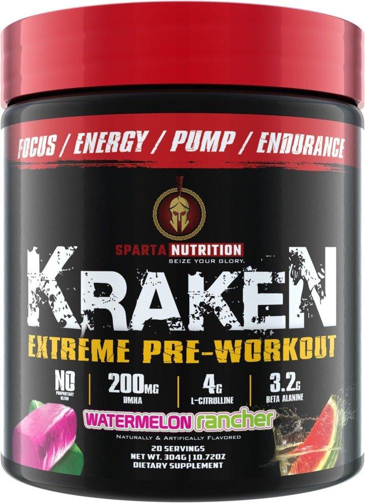 Spartan Nutrition Kraken Us Pre Workout Dmha Bodyshock Pro