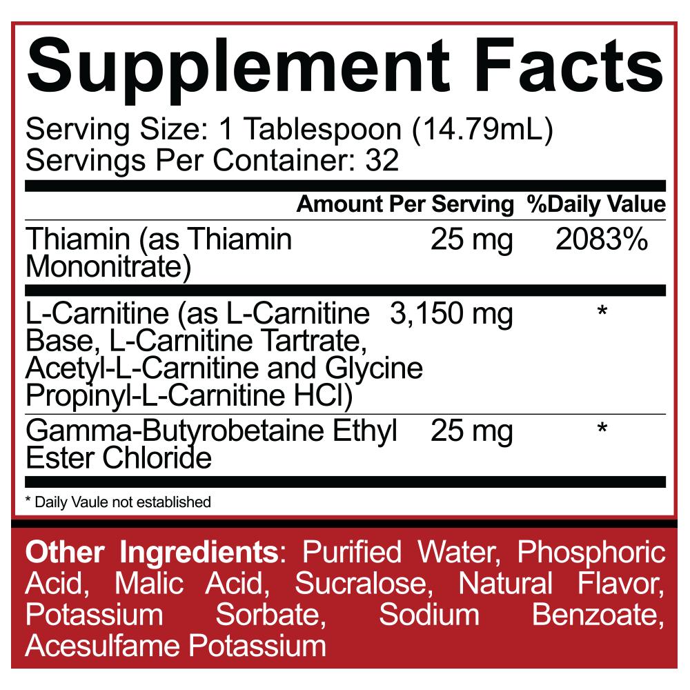 5% Nutrition (Rich Piana) L-Carnitine 3150 473 ml| bodyshock.pro