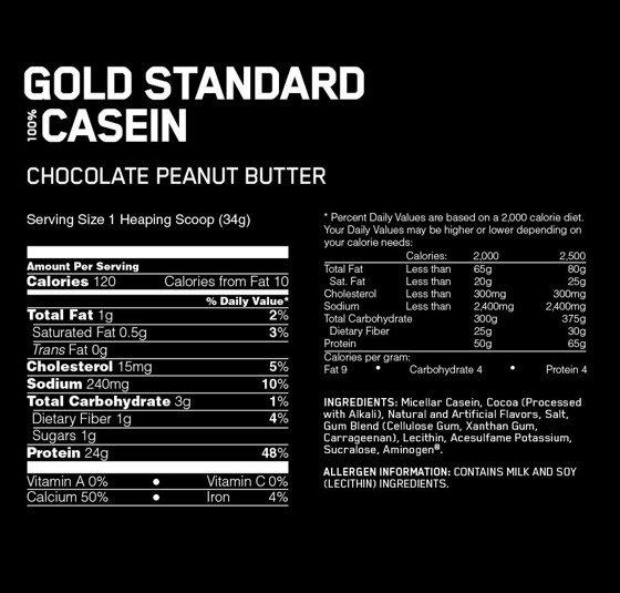 100 % Casein 909g