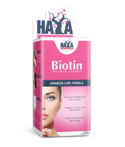 Biotin Maxiumum Strengh 10.000 mcg 100 tabs