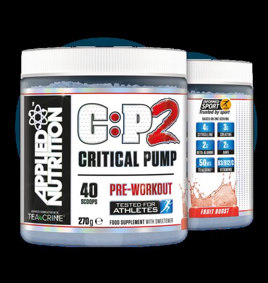 Critical Pump 2 270g 40 servings