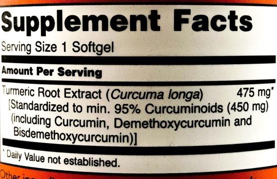 Curcumin Softgels 60 kaps.