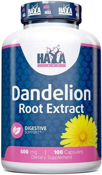 Dandelion Root Extract 500mg 100 caps
