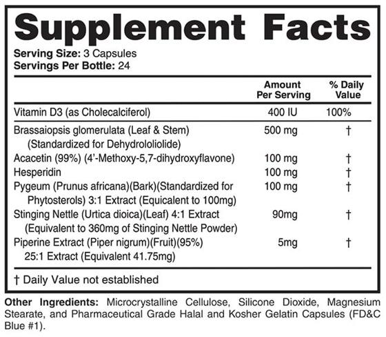 E-Brake Anti-Aromatase 72 caps