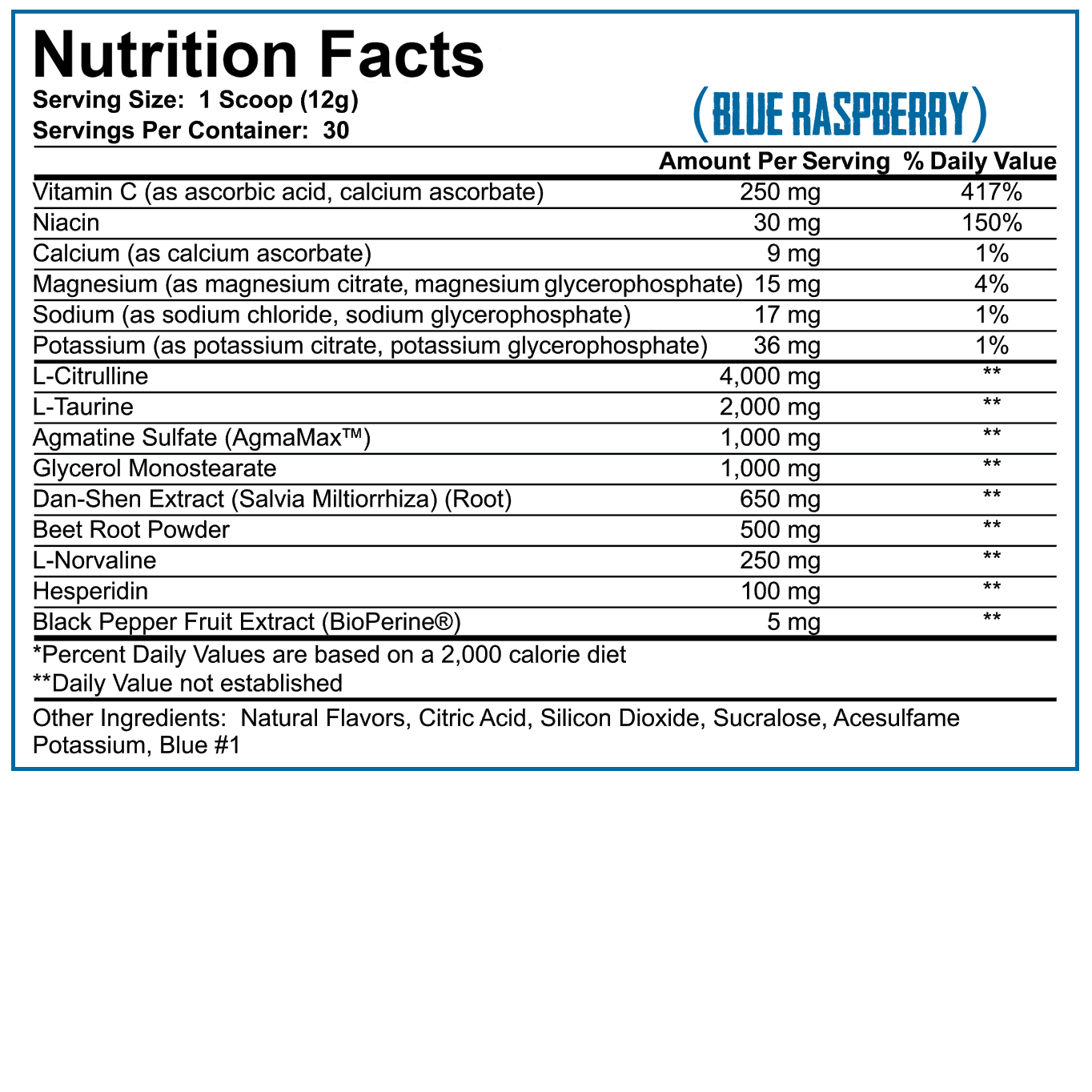 Full As Fuck 375g - USA agmatine version