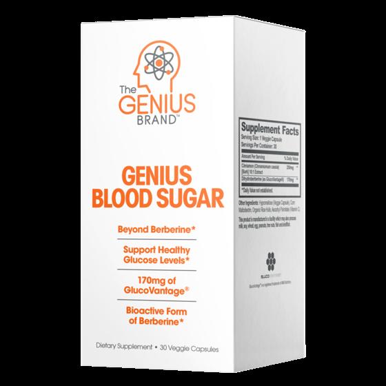 Genius Blood Sugar 30 caps