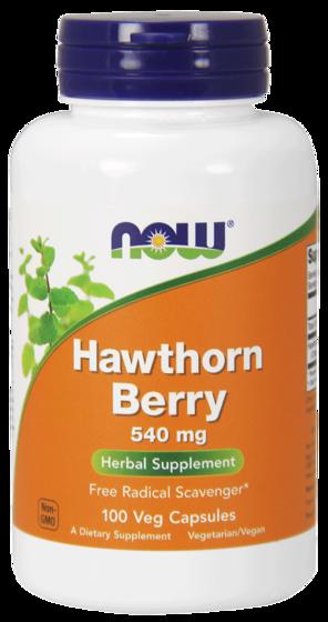 Hawthorn Berry 540mg 100 caps