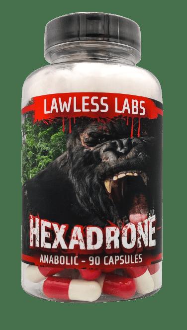 Hexadrone 50mg 90 caps