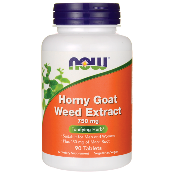 Horny goat weed extract 750mg 90 caps
