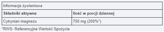 MAGNESIUM CITRATE 200 g