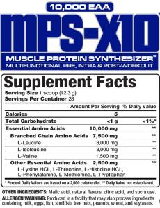 MPS-X10 345g