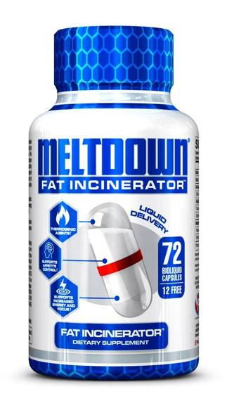 Meltdown Fat Incinerator VPX 72 caps
