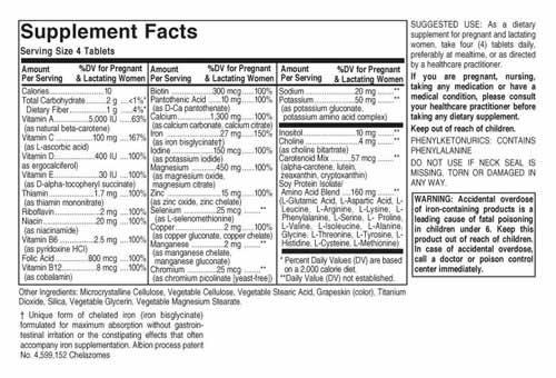 Prenatal Nutrients 120 caps