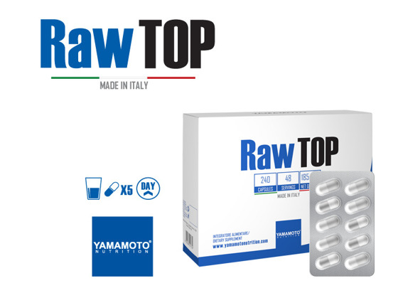 Raw Top 240 caps