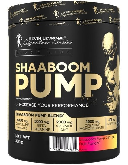 Shaaboom Pump 450g - Version USA with Agmatine