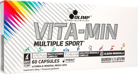 Vita-Min Multiple Sport 60cap