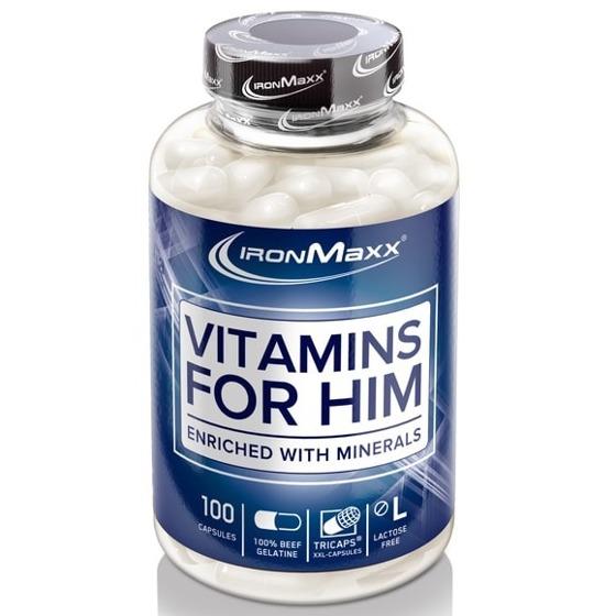 Vitamins for Him 100 caps