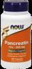 Pancreatin 200 mg 100 caps.