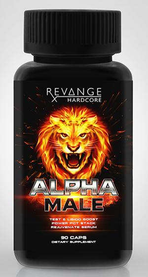 Alpha Male 90 caps