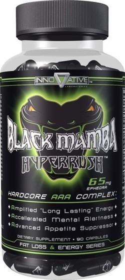 Black Mamba 90 caps - DMAA USA