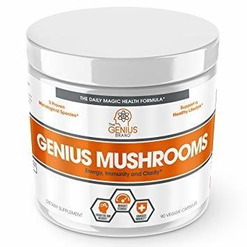 Genius Mushrooms 90 caps