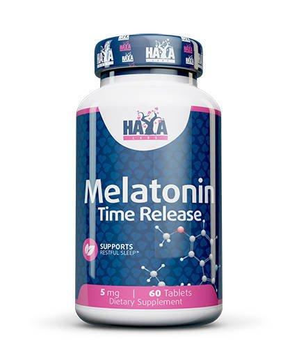 Haya Melatonin Time Release 5mg 60 caps