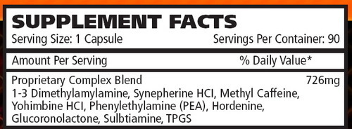 Hyperdrine 90 caps