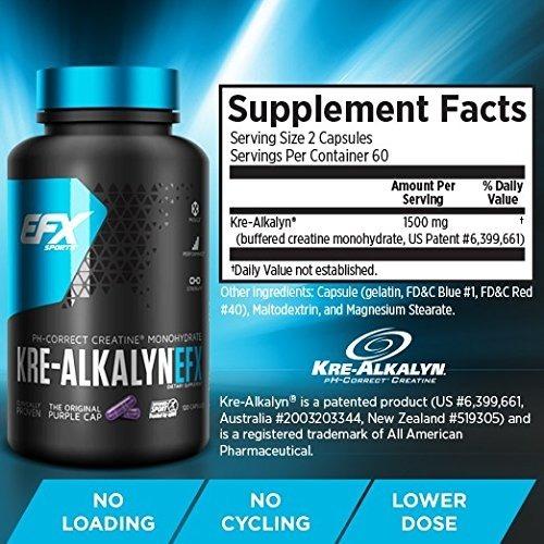 Kre-Alkalyn EFX 120 caps