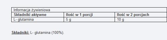 L-glutamine 200 g