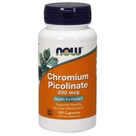NowFoods Chromium Picolinate 200mcg 100 caps