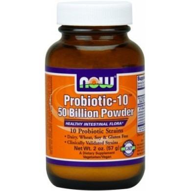 NowFoods Probiotic-10 50 Billions Powder 57g