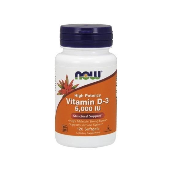 NowFoods Vitamin D-3 5000 IU 120 caps
