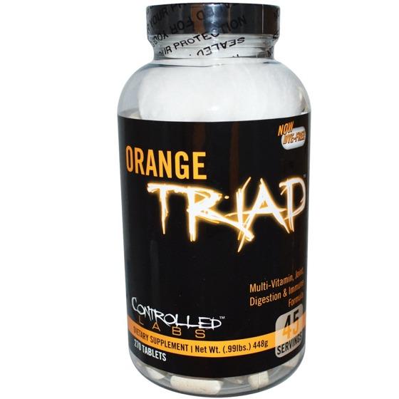 Orange Triad 270 caps