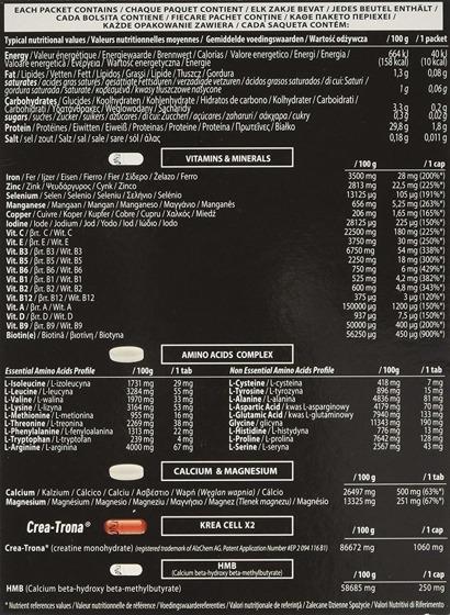 QNT Mega Vitek 30 sasz. 180 g