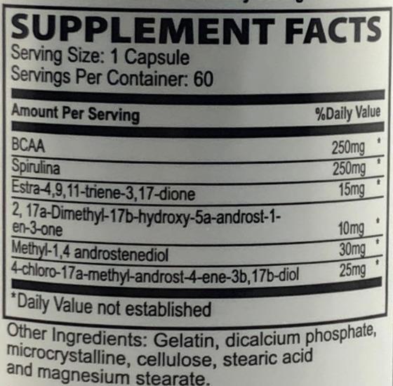 Quad Methyl Xtreme 60 caps