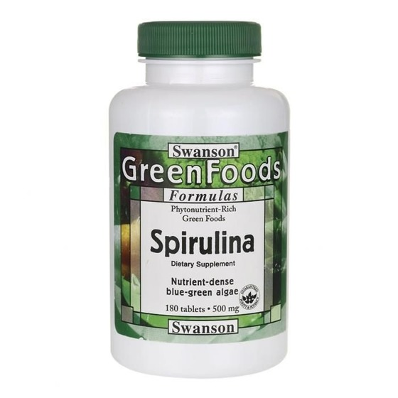 Spirulina 180 caps 500mg