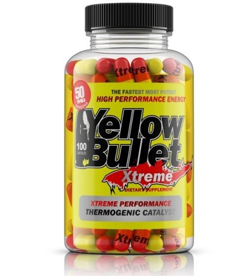 Yellow Bullet Xtreme 50 mg 100 caps