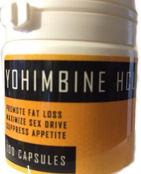 Palmas Yohimbine Hcl 100 caps